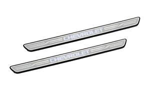 "21-22 Blazer Illuminated Front Door Sill Plates ""Chevrolet"" GM OEM NEW 42744901"