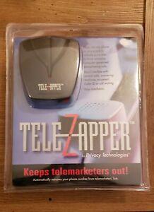 TeleZapper Telephone Telemarketers Blocker Privacy Technologies Tele Zapper New