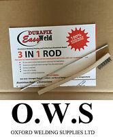 Aluminium Welding Brazing Low Temp Durafix Easyweld Rod - 225mm TRIAL ROD+BRUSH