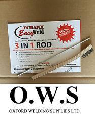 Aluminium Welding Brazing Low Temp Durafix Easyweld Rod 225mm Trial Rodbrush