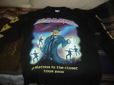 GAMMA RAY Skeletons in the closet 2002 Longsleeve shirt XL RARE OOP original