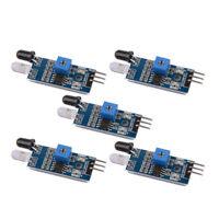 5 pcs IR Infrared Obstacle Avoidance Sensor Module for Arduino Smart Car Robot