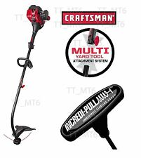 Craftsman 25cc Weedwacker 2 Cycle Curved Shaft Gas Weedeater Trimmer Lightweight