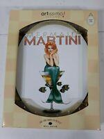 Artissimo Designs Mermaid Martini Pin Up Ralph Burch Wall Plate IOB