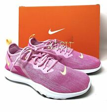 Nike Flex Trainer 9 Pink Rise Canvas Women's All Sizes Sneakers AQ7491 600