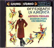 Arthur FIEDLER: OFFENBACH IN AMERICA Ibert Divertissement RCA Living Stereo CD