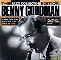 The Jazz Collector Edition: Benny Goodman - Krupa, Gene,Goodman, Benny - CD 1990