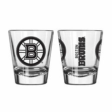 Boston Bruins Game Day Logo Shot Glass NHL College NEW