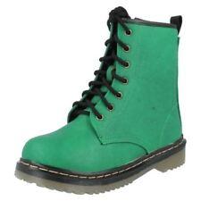 Calzado de niña Botas, botines verde color principal verde
