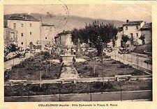 # COLLELONGO: VILLA COMUNALE IN PIAZZA S. ROCCO