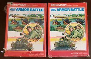 Armor Battle from Intellivision Inc for Intellivision CIB