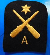 Canadian Armed Forces Navy Anti Aircraft rating 2nd class trade patch badge