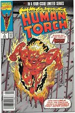 Saga of the Original Human Torch #1 (Apr 1990, Marvel) 1of 4 NM/MT