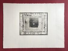 Armin Sandig, Spielzeug für Erfinder, Radierung, 1969, handsigniert und datiert