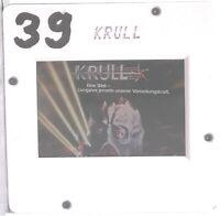 Kino # Film-Werbe-Dia # 50mm x 50mm # Ken Marshall - Lysette Anthony # Krull