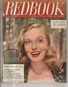 1945 Redbook January - Kay Kyser; Oklahoma Musical; Hellcat flight; Earl Cordrey