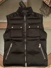 Ralph Lauren Black Label Mens Size Small Down & Feathers Combat Vest New w Tags
