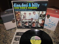 DINO, DESI & BILLY Vinyl Lp OUR TIME'S COMING Original 1965 Reprise Beauty!