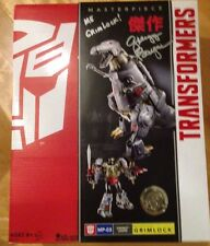 Transformers Hasbro Masterpiece Grimlock Signed By Gregg Berger At Botcon 2016
