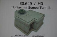 Artmaster 80.649 Bunker mit Sumoa Turm II. H0 1:87 Bausatz Keramik Resin