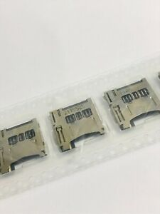 5pcs of 049225-0821  Micro SD Card Connector HDR 8POS 1.1mm 0492250821 R/A SMD