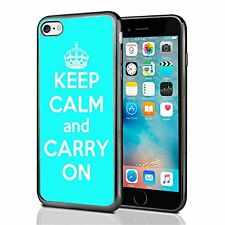 Turquoise Keep Calm and Carry On For Iphone 7 & Iphone 8 Case Cover