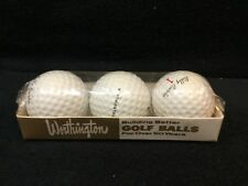 RARE VINTAGE NEW OLD STOCK BILLY BURKE #1 GOLF BALLS IN ORIGINAL SLEEVE of 3
