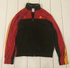 Adidas. Track Jacket Child Medium Red & Black