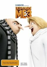 Despicable Me 3 (DVD, 2017) + ULTRAVIOLET NEW & SEALED