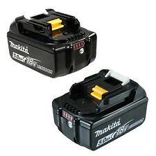 Genuine Makita 18V BL1850B Lithium Battery with Gauge 5.0Ah 2 Batteries-AU Stock