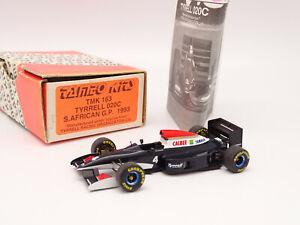 Tameo Kit Monté 1/43 - F1 TYRRELL 020C SOUTH AFRICAN GP 1993