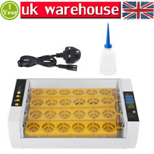 Digital 24 Egg Incubator Hatcher Temperature Automatic Farm Turning Chicken VAT