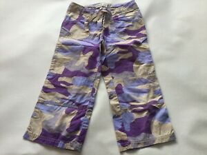 Boys Genuine Mini Boden Combat Cropped Trousers Size Age 9-10 Years Old Shorts
