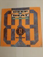 Deep Heat Fight The Flame Vinyl Double Album LP 1989 Original. FREE DELIVERY.