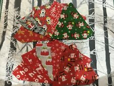 Christmas Present Handmade Dog / Cat Animal Collar Bandana neckerchief