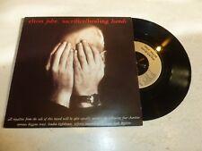 """Elton John-Sacrificio/manos De Curación - 1990 Reino Unido 7"""" SINGLE VINILO"""
