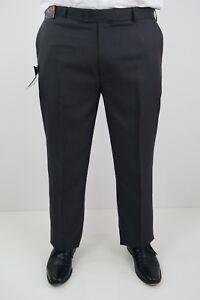 Farah Mens Business Dress Formal Pants Trousers sizes 82 87 92 97 102 Slate