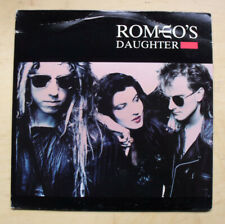 ROMEO'S DAUGHTER ROMEO'S DAUGHTER LP 1988 NICE CLEAN RECORD BUT THE COVER HAS CR