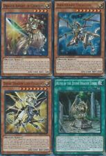 All Foils: Arkbrave, Divine Dragon Lord Felgrand, Knight Creation, Ruins SR02