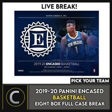 2019-20 PANINI encajonado baloncesto 8 Caja (completo Funda) romper #B501 - Elige Tu Equipo