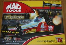 2014 Doug Kalitta signed Mac Tools Top Fuel NHRA postcard