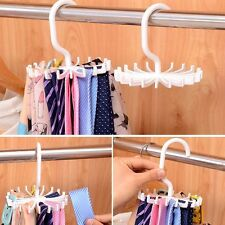 For Organizer Cleaner Adjustable Belt Scarf Hanger Tie Holder Ties Hook Rack