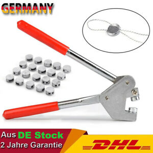 Plombenzange Bleiplombenzange Stahl für Blei Durchmesser mit Plombendrähte DHL