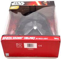 Disney Star Wars 3D Deco Wall Light Darth Vader Helmet