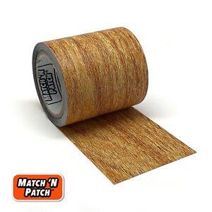 Match 'N Patch Realistic Wood Grain Repair Tape, Natural Oak
