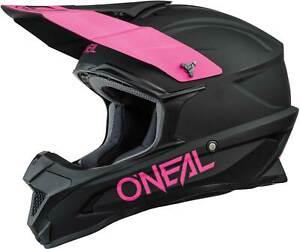 O'Neal 1 SRS Solid Helmet - MX Motocross Dirt Bike Off-Road MTB ATV Adult