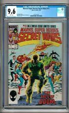 Marvel Super Heroes Secret Wars #11 (1985) CGC 9.6  White Pages  Shooter - Zeck