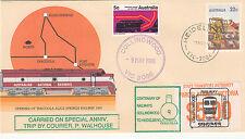 Stamp Australia Tarcoola PSE 1988 Collingwood to Heidelberg cachet overprint