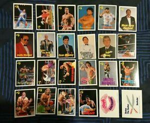 WWF ×24 1990 Classic Wrestling card lot wwe