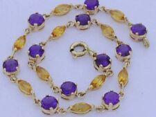 Tennis Amethyst 18 - 18.99cm Fine Bracelets